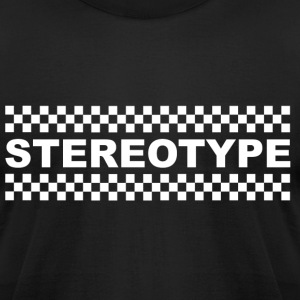 Stereotype White T-Shirts - Men's T-Shirt by American Apparel