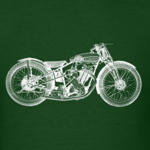 Vintage Motorcycle T-shirt - 1931 Husqvarna |  - Men's T-Shirt