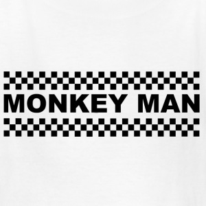 Monkey Man Kids' Shirts - Kids' T-Shirt