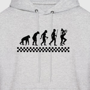 Evolution of Ska - Men's Hoodie