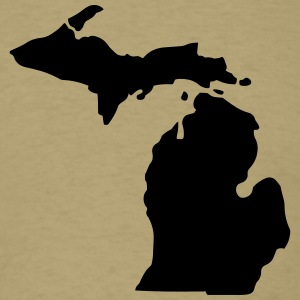 State of Michigan T-Shirts - Men's T-Shirt