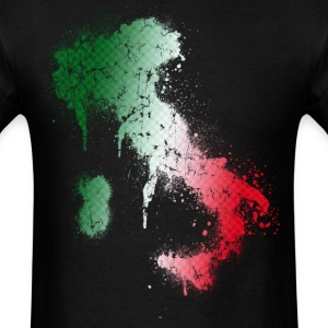 Italian Italy Spray Paint - Men's T-Shirt
