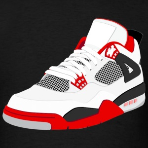 j4 fire red T-Shirts - Men's T-Shirt