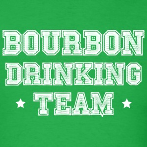 Bourbon Drinking Team T-Shirts - Men's T-Shirt