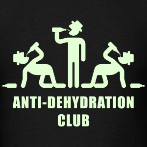 Anti-Dehydration Club (Party) T-Shirts - Men's T-Shirt