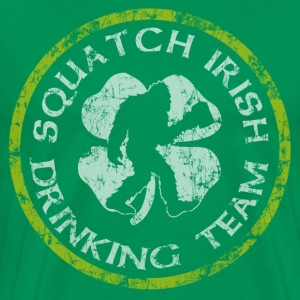 Squatch  Irish Drinking Team - Men's Premium T-Shirt