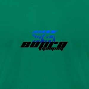 SuPra Gaming Graphic Tee - Black on Green - Men's T-Shirt by American Apparel