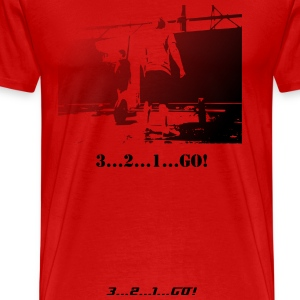 3 2 1 GO - Men's Premium T-Shirt