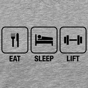 Eat Sleep Lift T-Shirts - Men's Premium T-Shirt