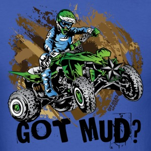 Kawasaki Quad Got Mud T-Shirts - Men's T-Shirt