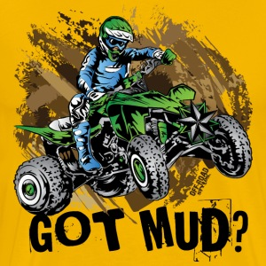 Kawasaki Quad Got Mud T-Shirts - Men's Premium T-Shirt