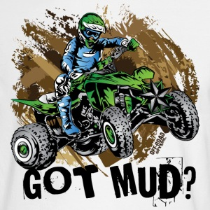 Kawasaki Quad Got Mud Long Sleeve Shirts - Men's Long Sleeve T-Shirt