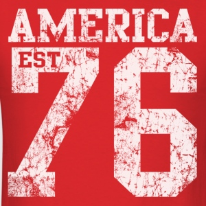 America EST 1776 - Men's T-Shirt