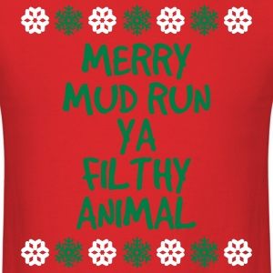 Merry Mud Run! T-Shirts - Men's T-Shirt