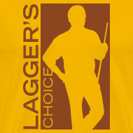 Design ~ Brown Logo Men's Short Sleeve Premium T-Shirt