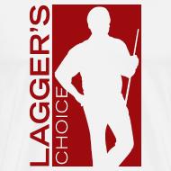 Design ~ Red Logo Men's Short Sleeve Premium T-Shirt