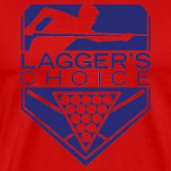 Design ~ Blue Logo Men's Short Sleeve Premium T-Shirt