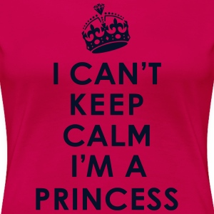 Keep Calm / Princess Women's T-Shirts - Women's Premium T-Shirt