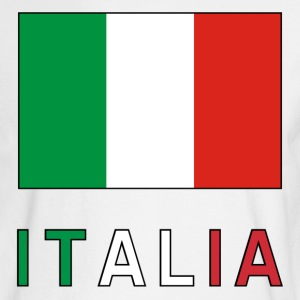 Italian Flag and Italia Long Sleeve Shirts - Men's Long Sleeve T-Shirt