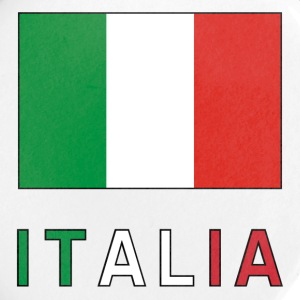 Italian Flag and Italia Buttons - Large Buttons