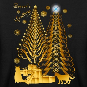 Golden Presents-Gold Kitties - Kids' Long Sleeve T-Shirt