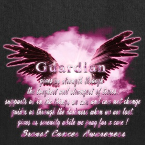 Guardian Angel serenity prayer Breast Cancer Aware Bags & backpacks - Tote Bag