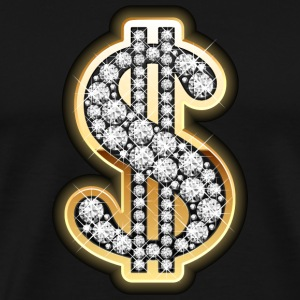 Gold Dollar T-Shirts - Men's Premium T-Shirt