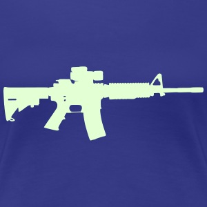 Gun - Rifle - 2nd Ammendment Women's T-Shirts - Women's Premium T-Shirt