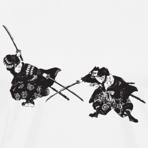 Samurai - Japan - Japanese - Warrior - Bushido T-Shirts - Men's Premium T-Shirt