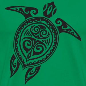 Sea Turtle - Tribal T-Shirts - Men's Premium T-Shirt