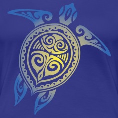 Sea Turtle - Tribal Women's T-Shirts