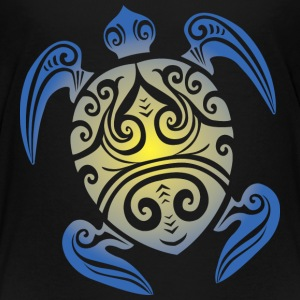 Sea Turtle - Tribal Kids' Shirts - Kids' Premium T-Shirt