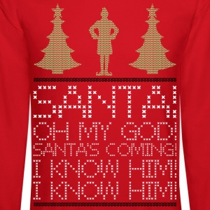 Elf christmas  Long Sleeve Shirts - Crewneck Sweatshirt