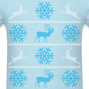 Deers and snowflakes T-Shirts - Men's T-Shirt