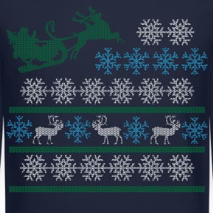 sleigh Long Sleeve Shirts - Crewneck Sweatshirt