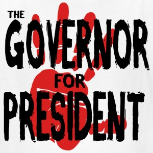 The Governor for President - Kids' T-Shirt