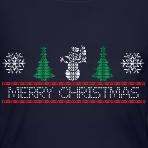 snowman tree Long Sleeve Shirts - Women's Long Sleeve Jersey T-Shirt