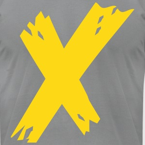 Cool Head Gold X - Men's T-Shirt by American Apparel