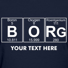 B-O-Rg (borg) - Full Women's T-Shirts