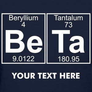 Be-Ta (beta) - Full Women's T-Shirts - Women's T-Shirt