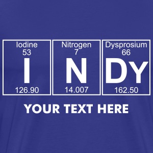 I-N-Dy (indy) - Full T-Shirts - Men's Premium T-Shirt