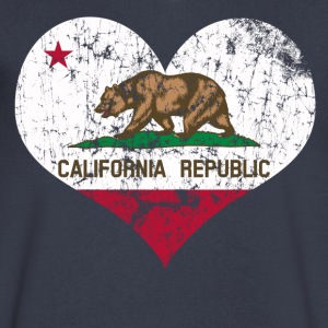 California Love - Men's V-Neck T-Shirt by Canvas