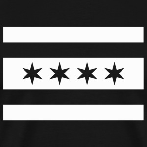 Alternate Chicago Flag Swat - Men's Premium T-Shirt