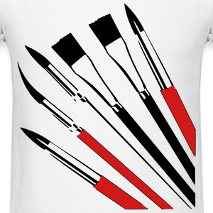 Brushes T-Shirts - Men's T-Shirt