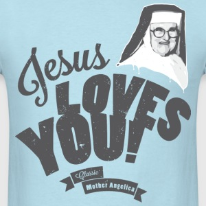 Classic Mother Angelica Dark T-Shirts - Men's T-Shirt