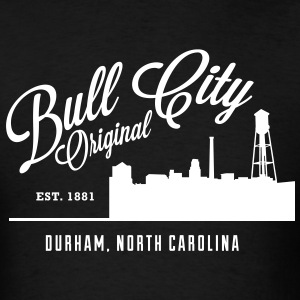 Bull City Original Skyline - Men's T-Shirt
