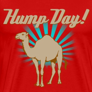 Funny Hump Day Camel - Men's Premium T-Shirt