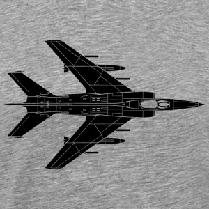 Jet - Air Force - Plane - Military T-Shirts - Men's Premium T-Shirt