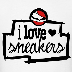 i love sneakers T-Shirts - Men's T-Shirt