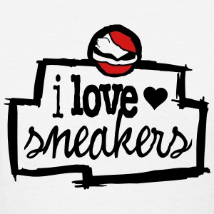 i love sneakers Women's T-Shirts - Women's T-Shirt